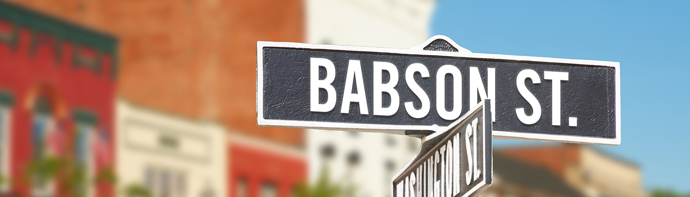 Babson Street Babson College