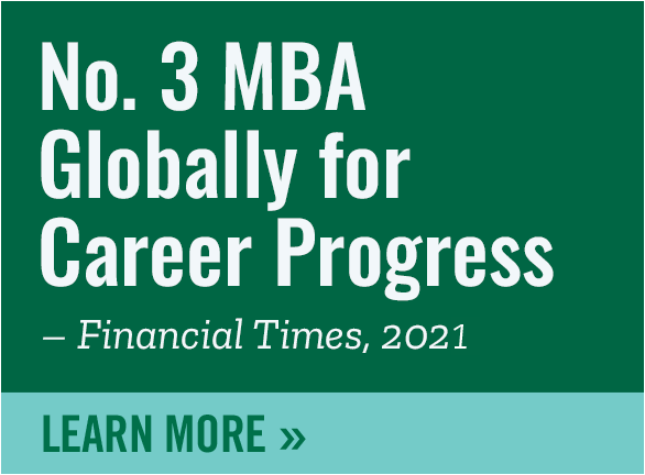 No.3 MBA for Career Programs