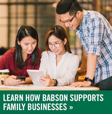 Babson Supports Family Businesses