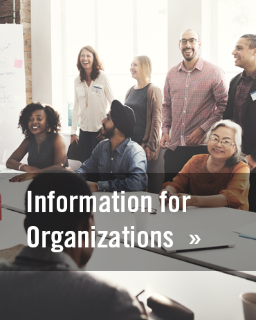 Information for Organizations