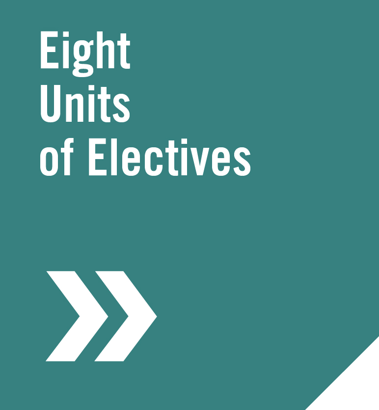 Eight Units of Electives