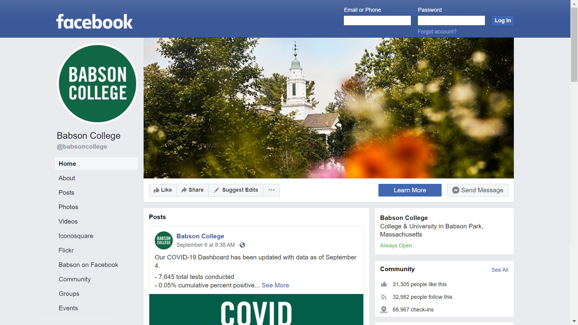 Babson College on Facebook