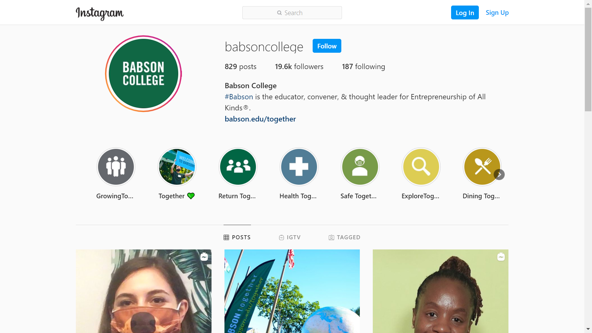 Babson College on Instagram
