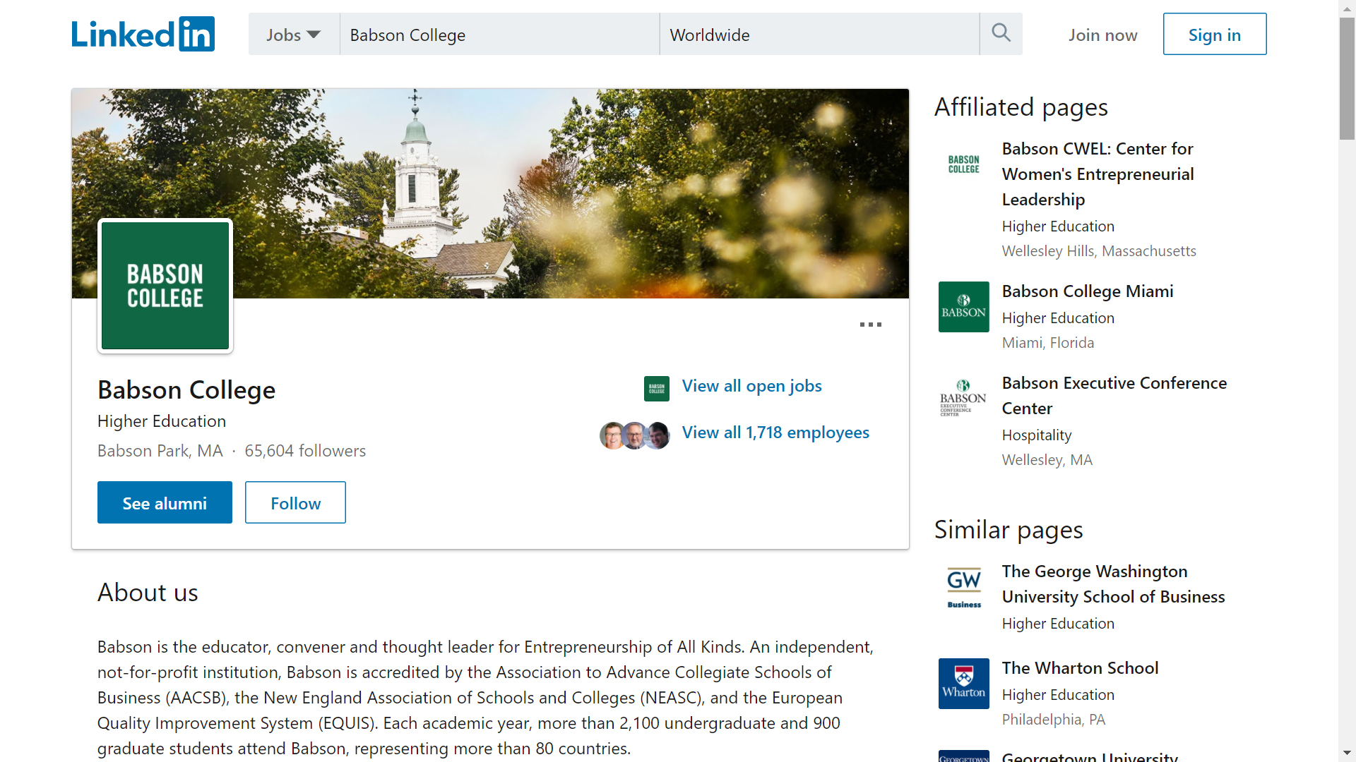 Babson College on LinkedIn