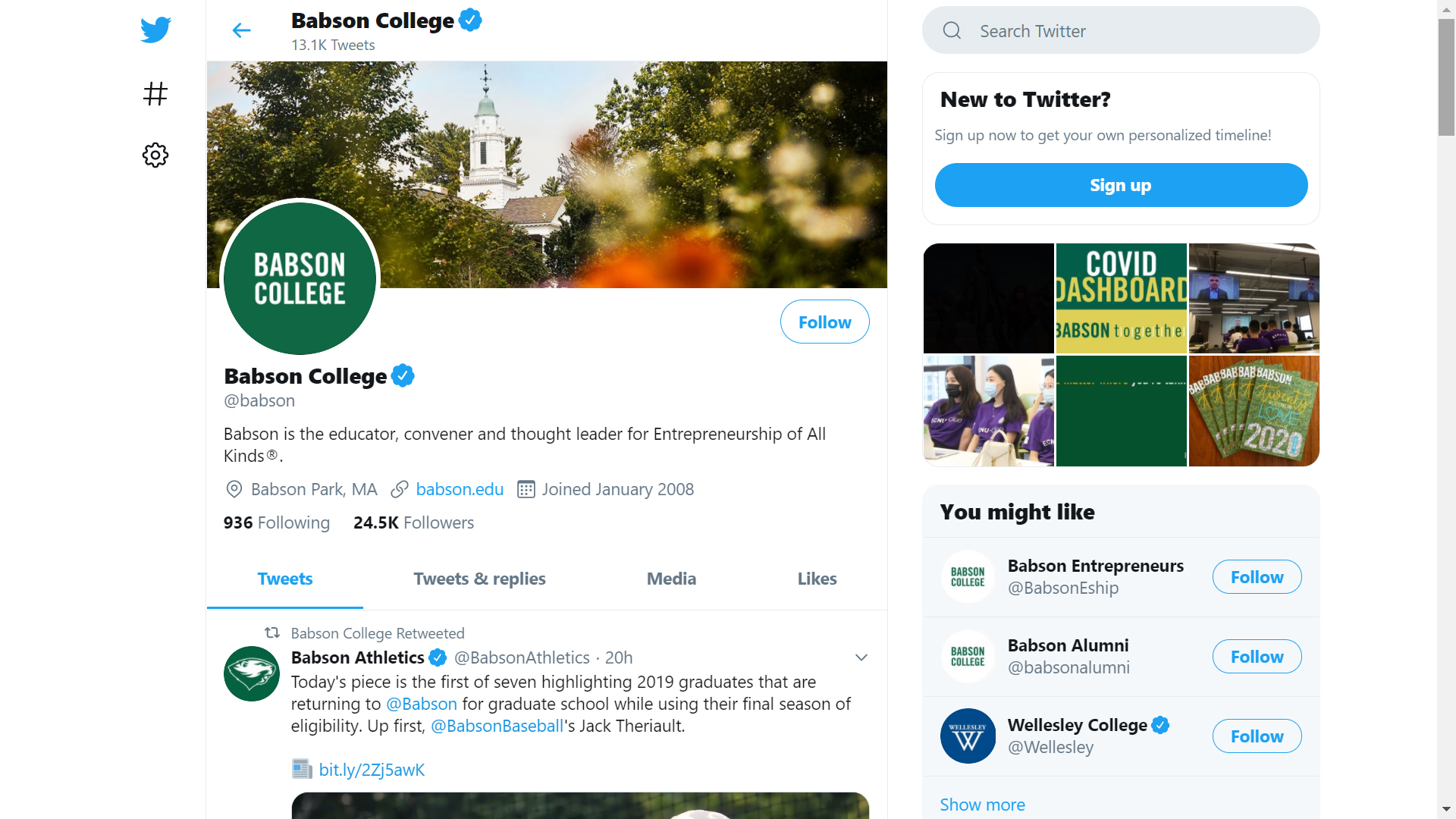 Babson College on Twitter