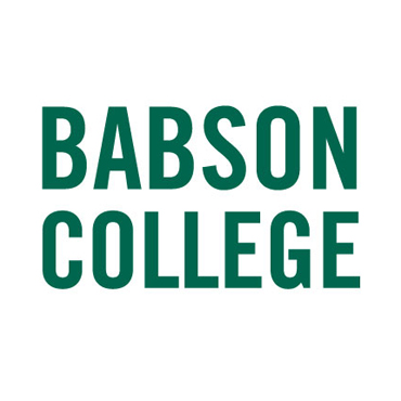 Babson College Stacked 3425