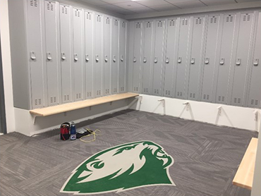 Webster Locker Room