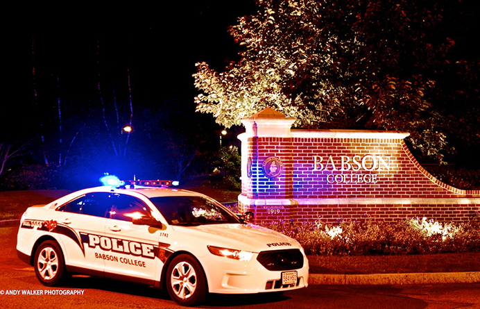 Babson College Police Department   Babson College